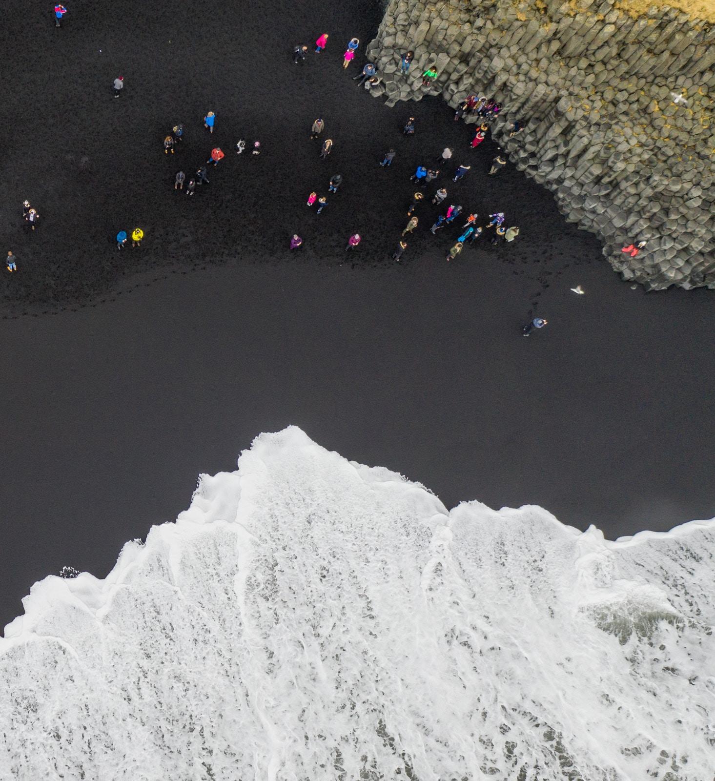 Czarna plaża Reynisfjara