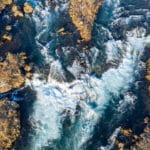 Islandzki Złoty Krąg zimą