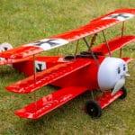 Model samolotu Fokker Dr.I