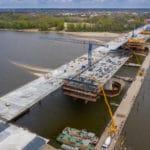 Budowa Mostu Południowego z drona III