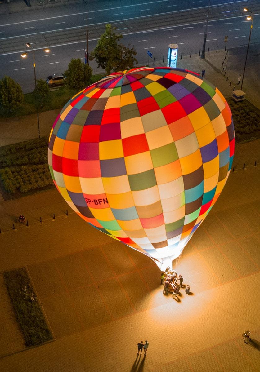 Balon w Warszawie