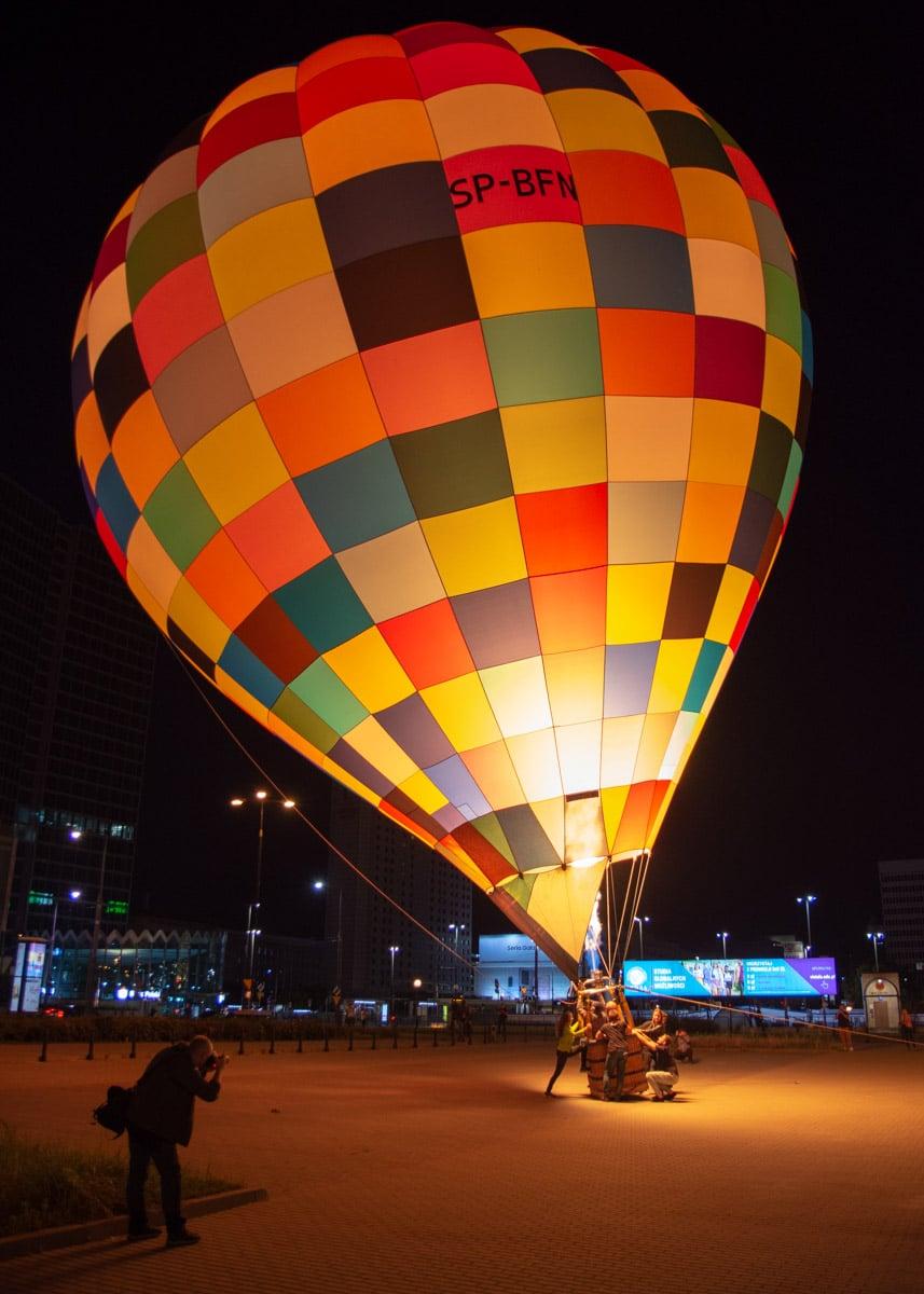 Balony nad Warszawą