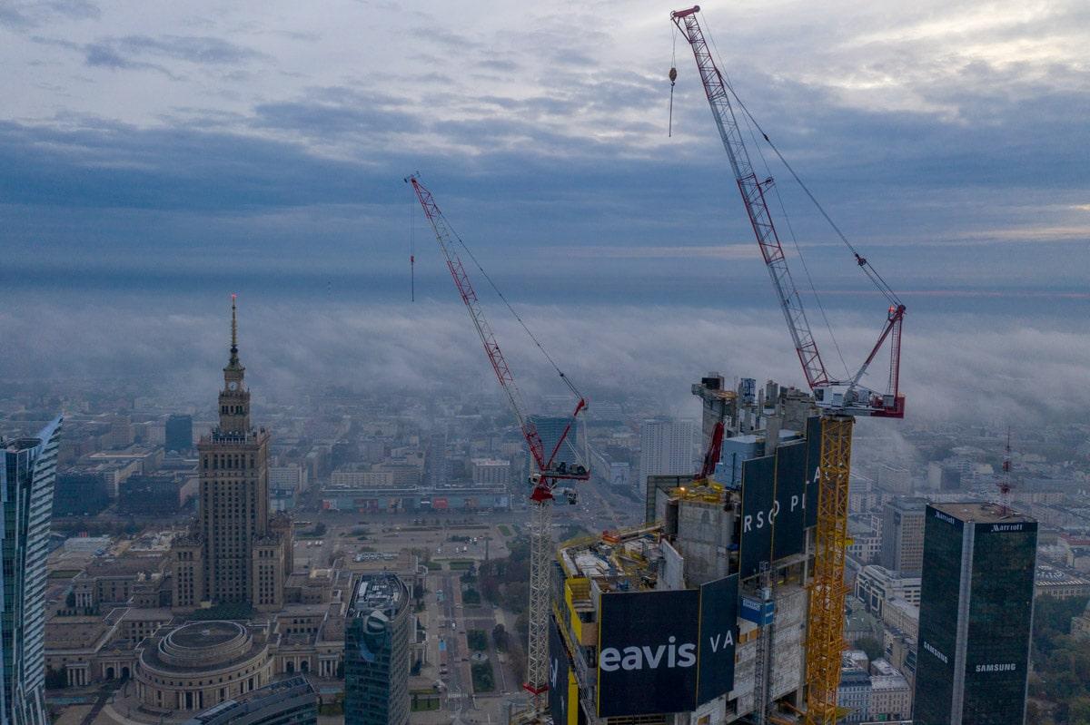 Budowa Varso Tower w Warszawie