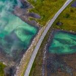 Latanie dronem w Norwegii