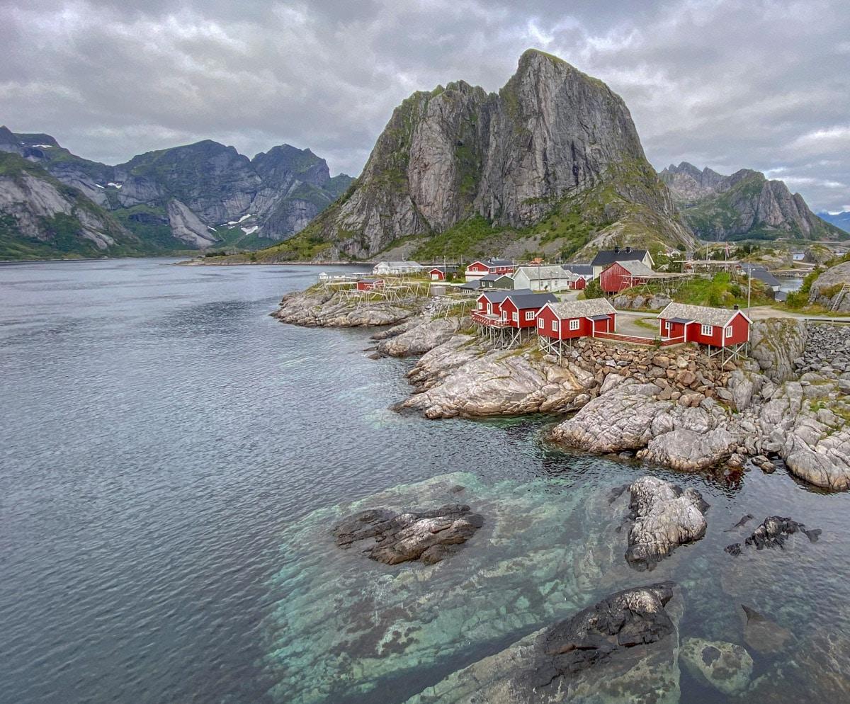 Hamnøy,  Lofoty