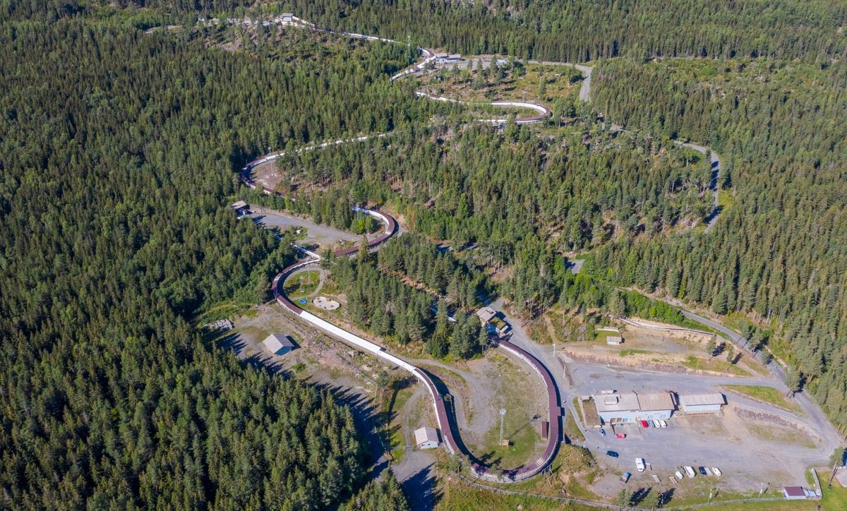 Tor bobslejowy w Lillehammer