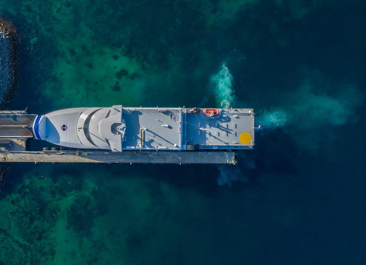 Port w Moskenes