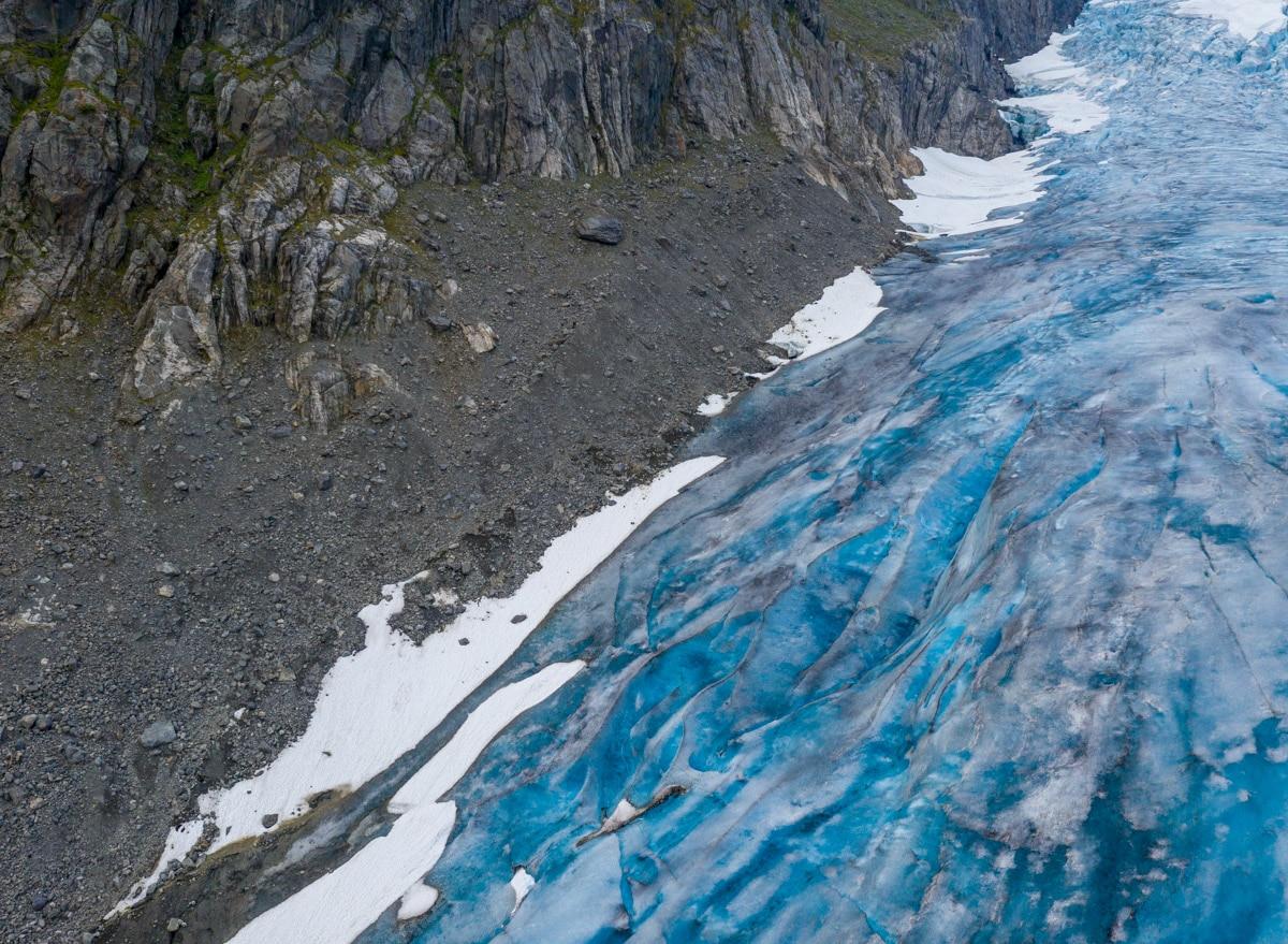 Niebieski lodowiec
