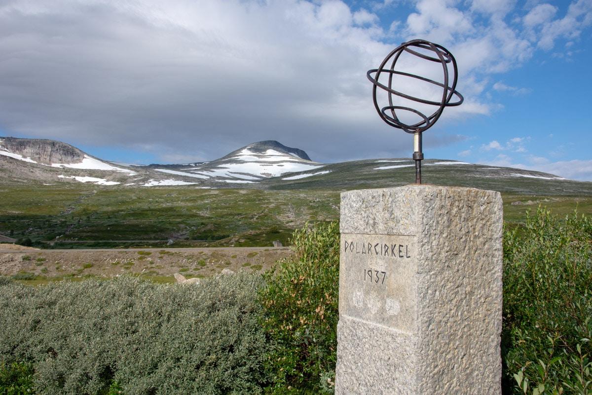 Koło podbiegunowe w Norwegii