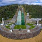 Lillehammer – skocznia, tor bobslejowy i wioska olimpijska