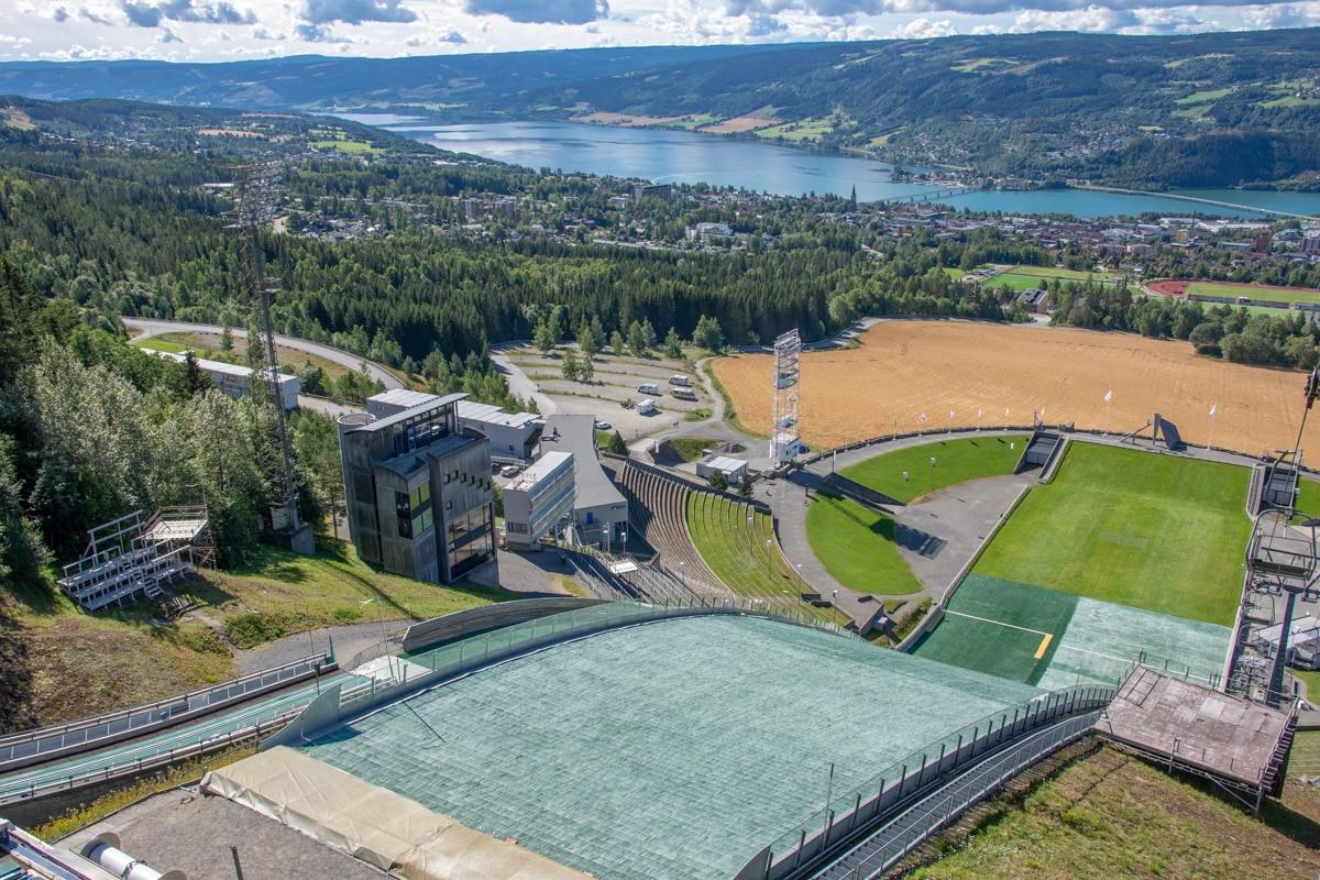 Skocznia narciarska Lysgårdsbakken w Lillehammer