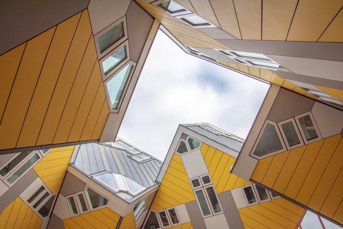 Domy kubiczne w Rotterdamie