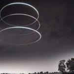 Malowanie dronem i światłem