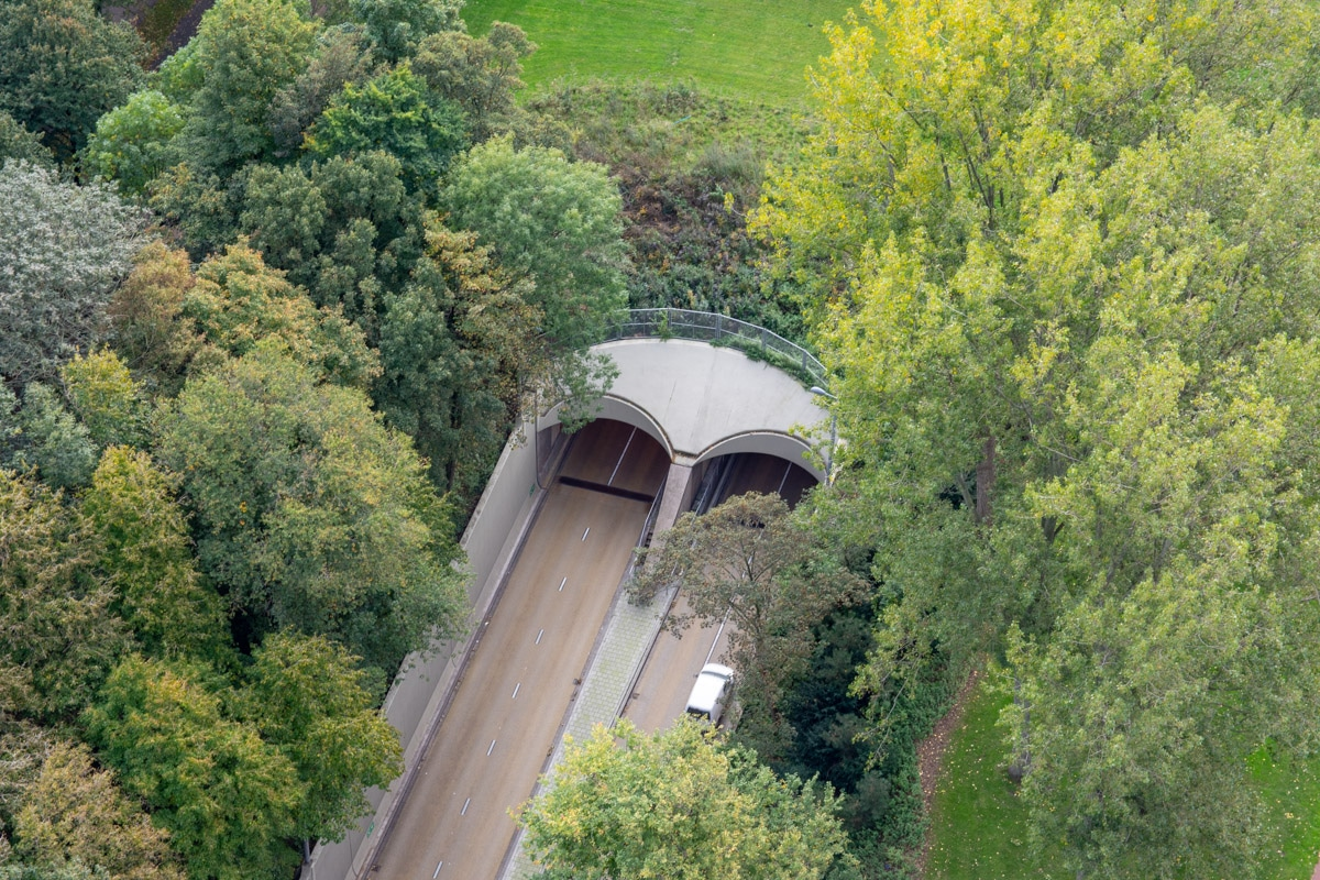 Tunel w Rotterdamie