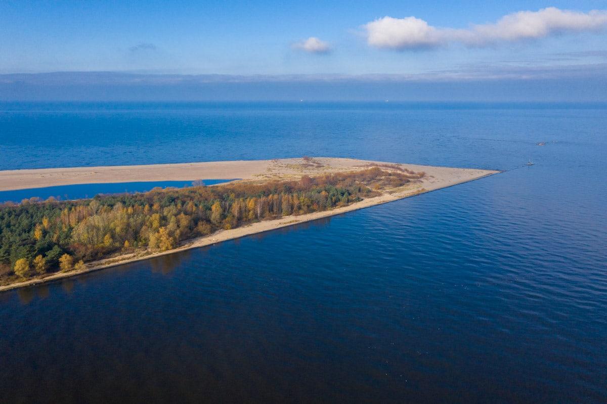 Wyspa Sobieszewska i Wisła