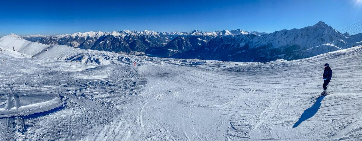 Szwajcaria zimą