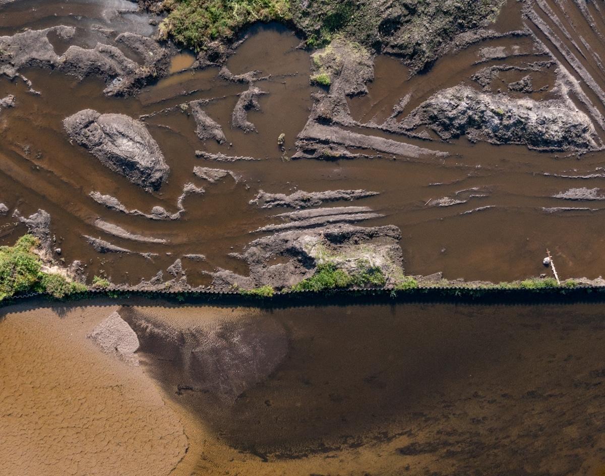 Zbiornik w Komorowie - sierpień 2021