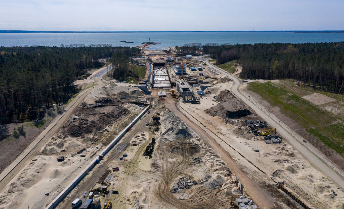 Budowa kanału na Mierzei Wiślanej