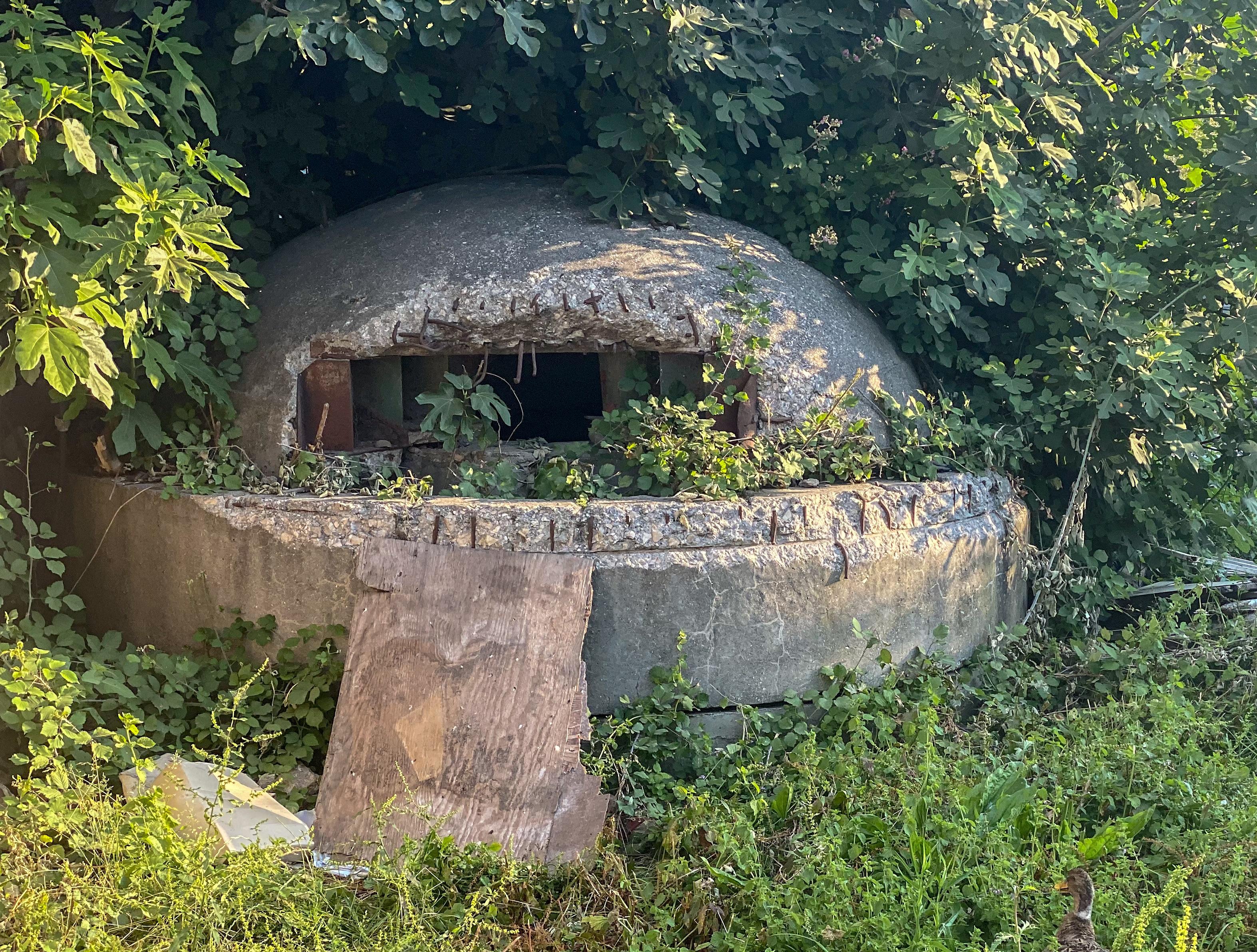 bunkier w Albanii