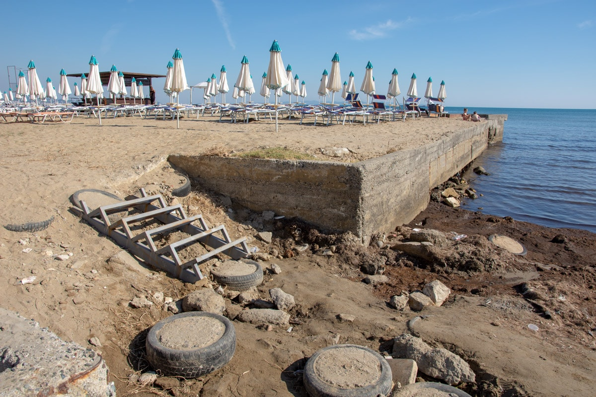 Plaża w Durres