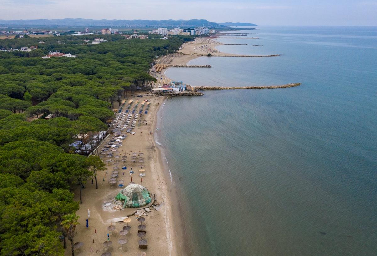 Plaża Golem