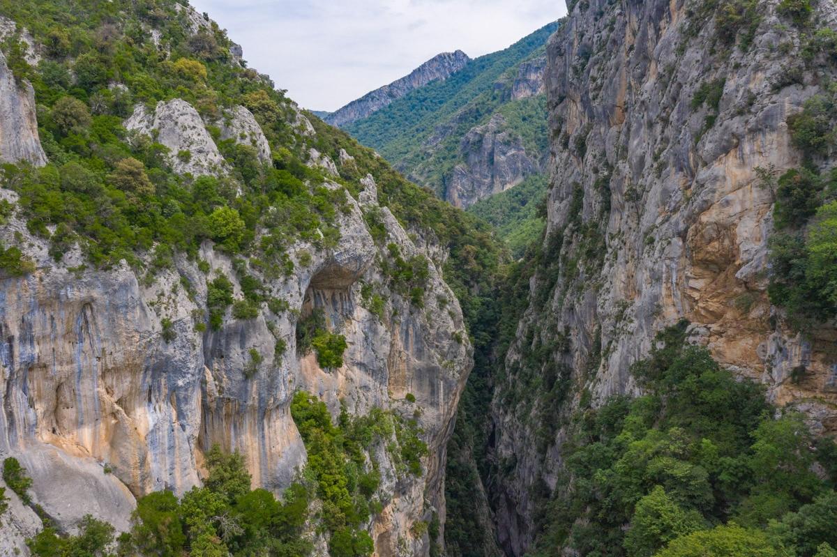 Kanioni i Holtës z drona