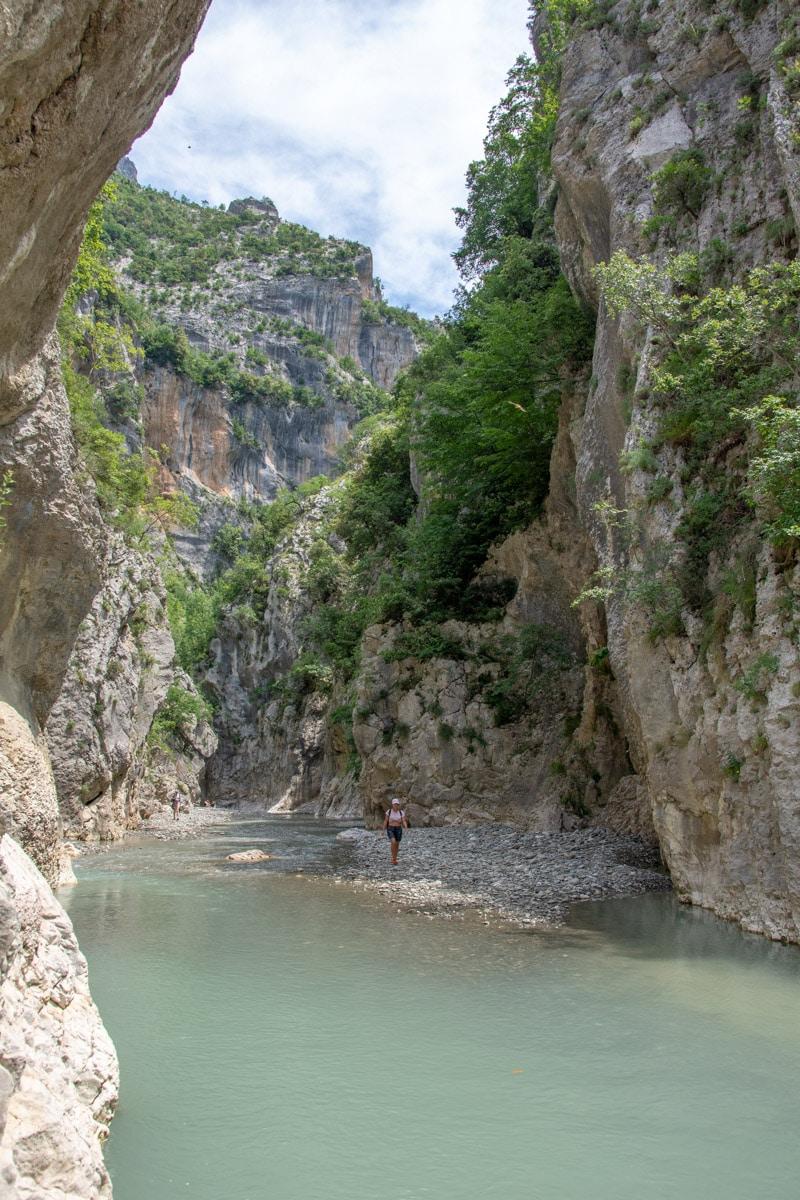 Kanioni i Holtës, Albania