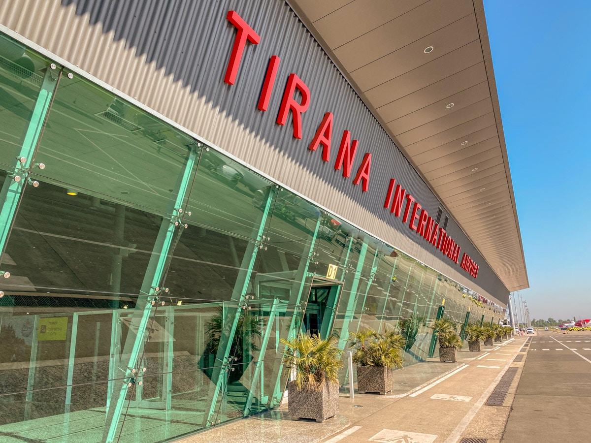 Lotnisko Tirana