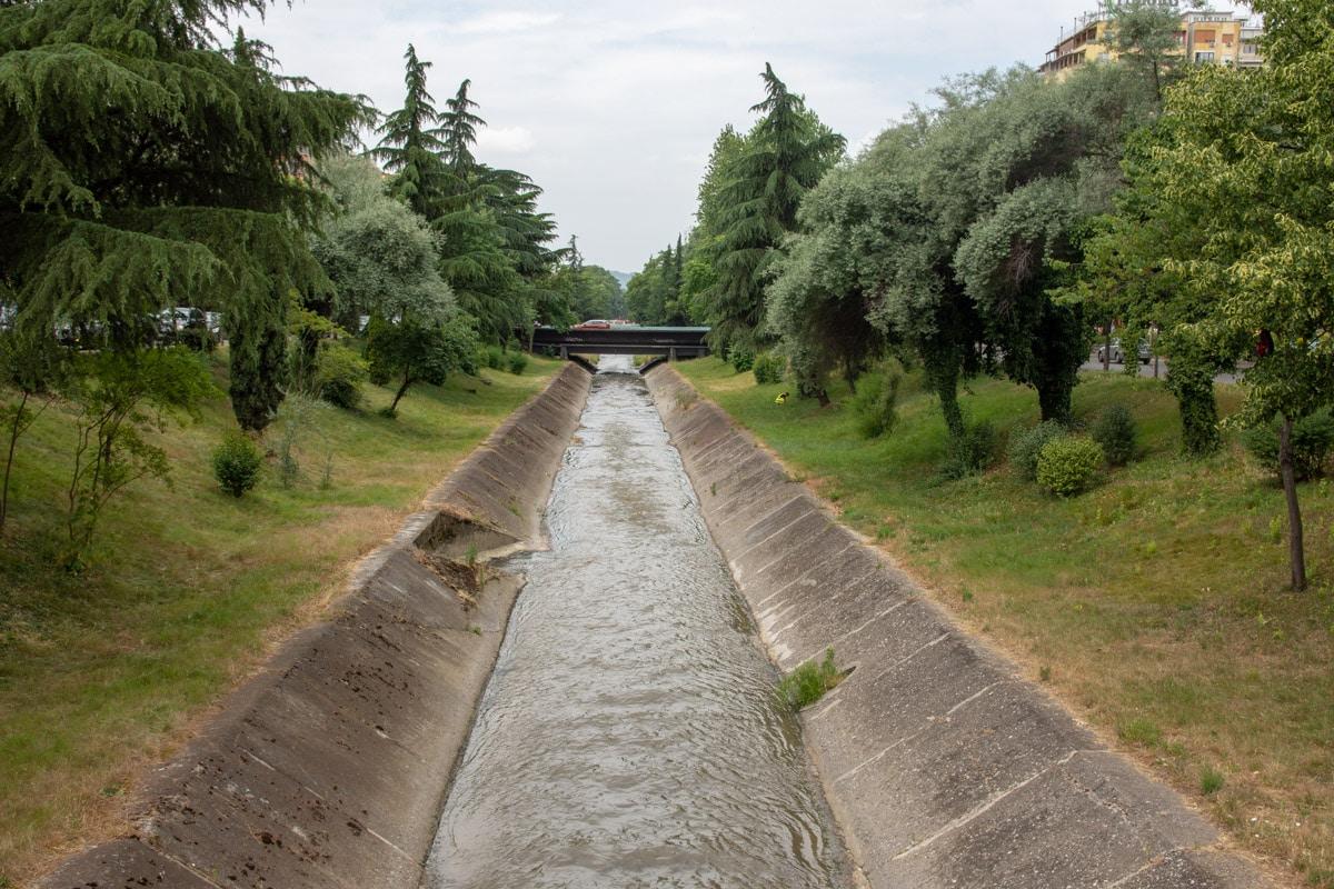 Rzeka Lana w Tiranie