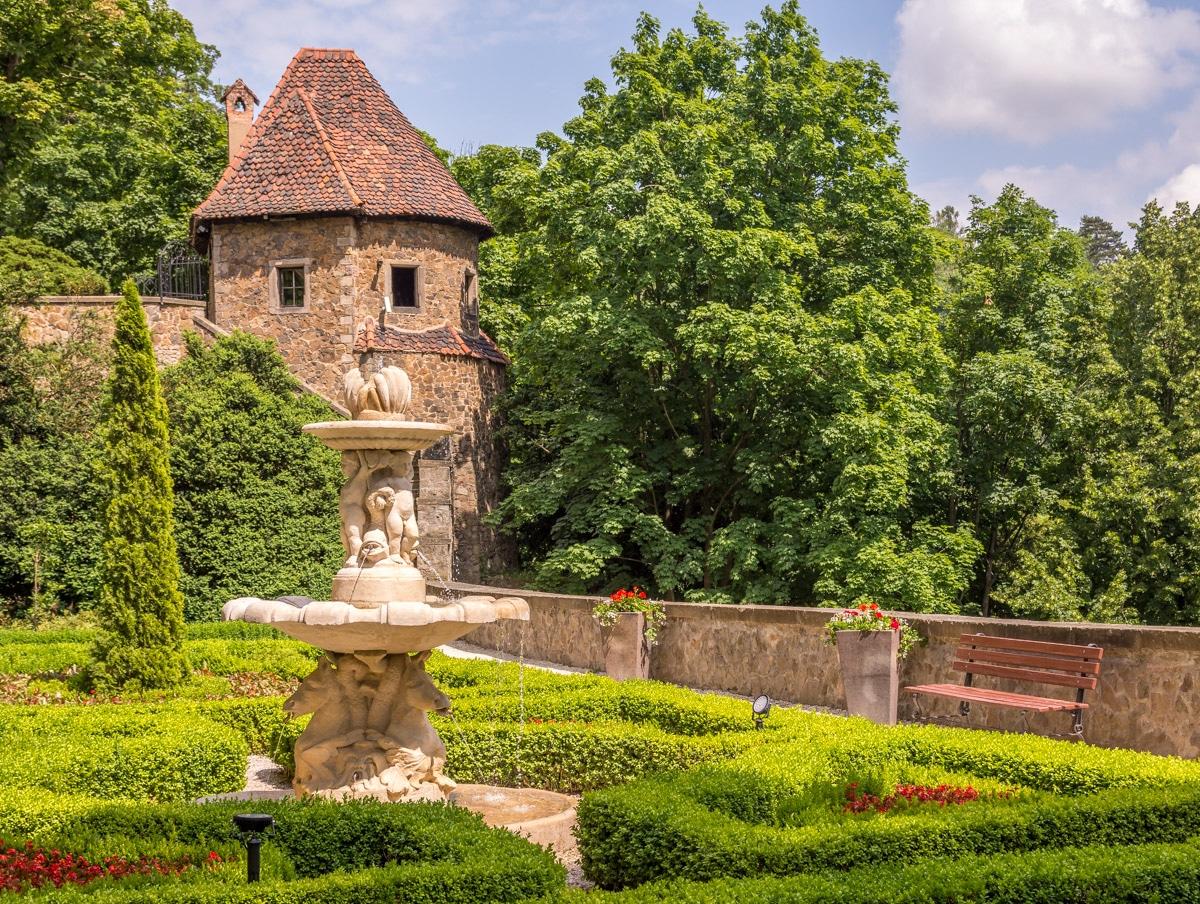 Tarasy zamku Książ