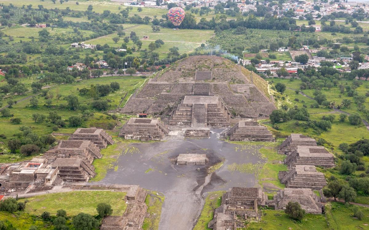 Piramida Księżyca - Teotihuacán