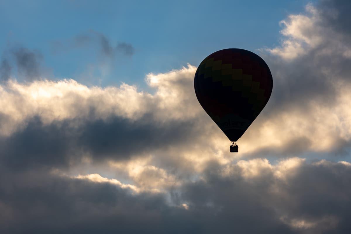 Balon nad Meksykiem
