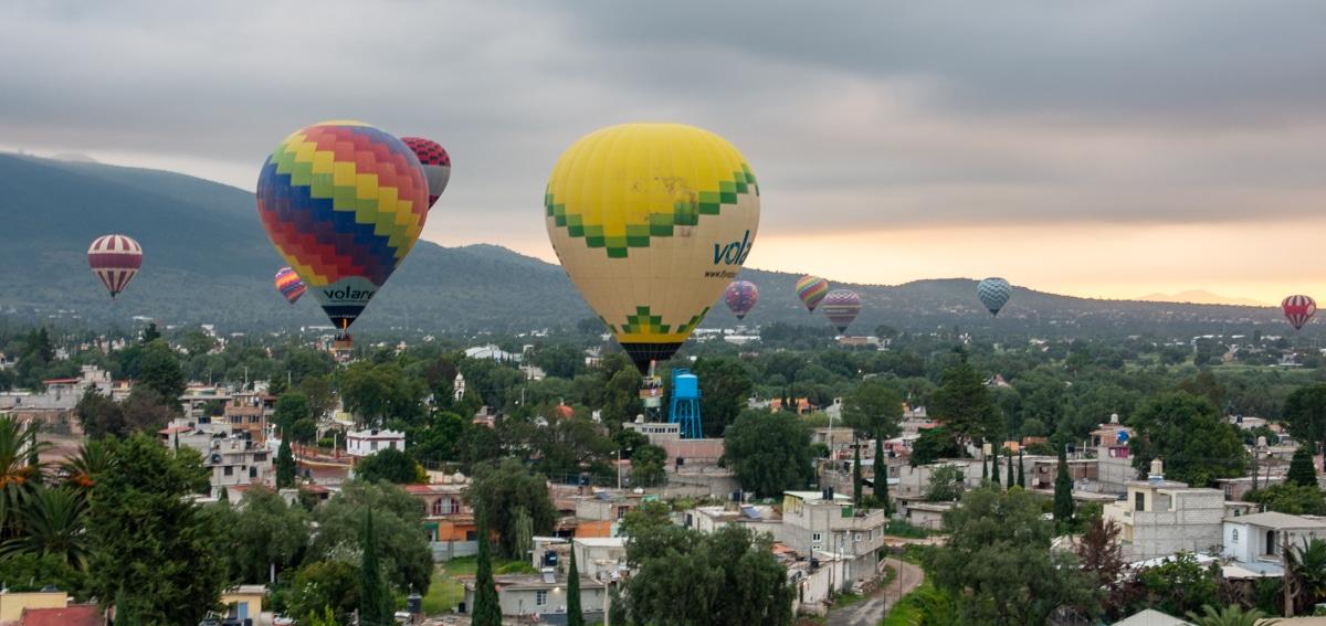Balony w Meksyku
