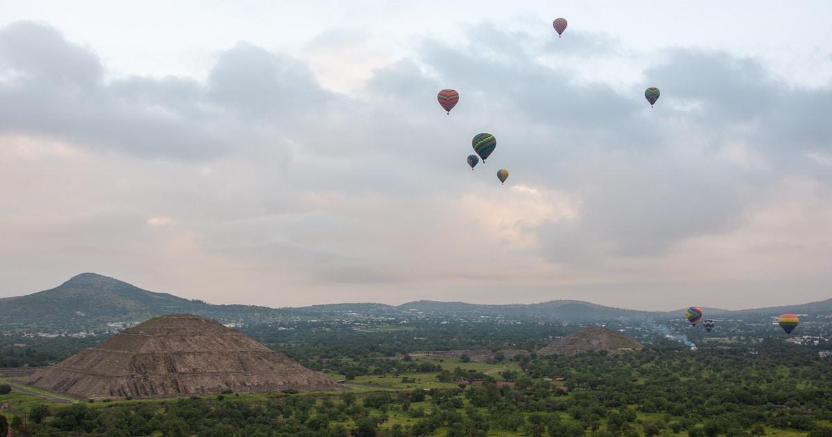 Teotihuacán - balony