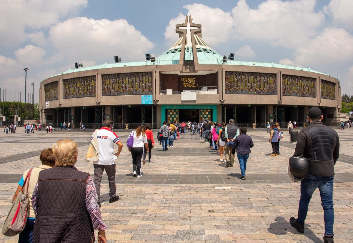Nowa Bazylika Matki Bożej z Guadalupe