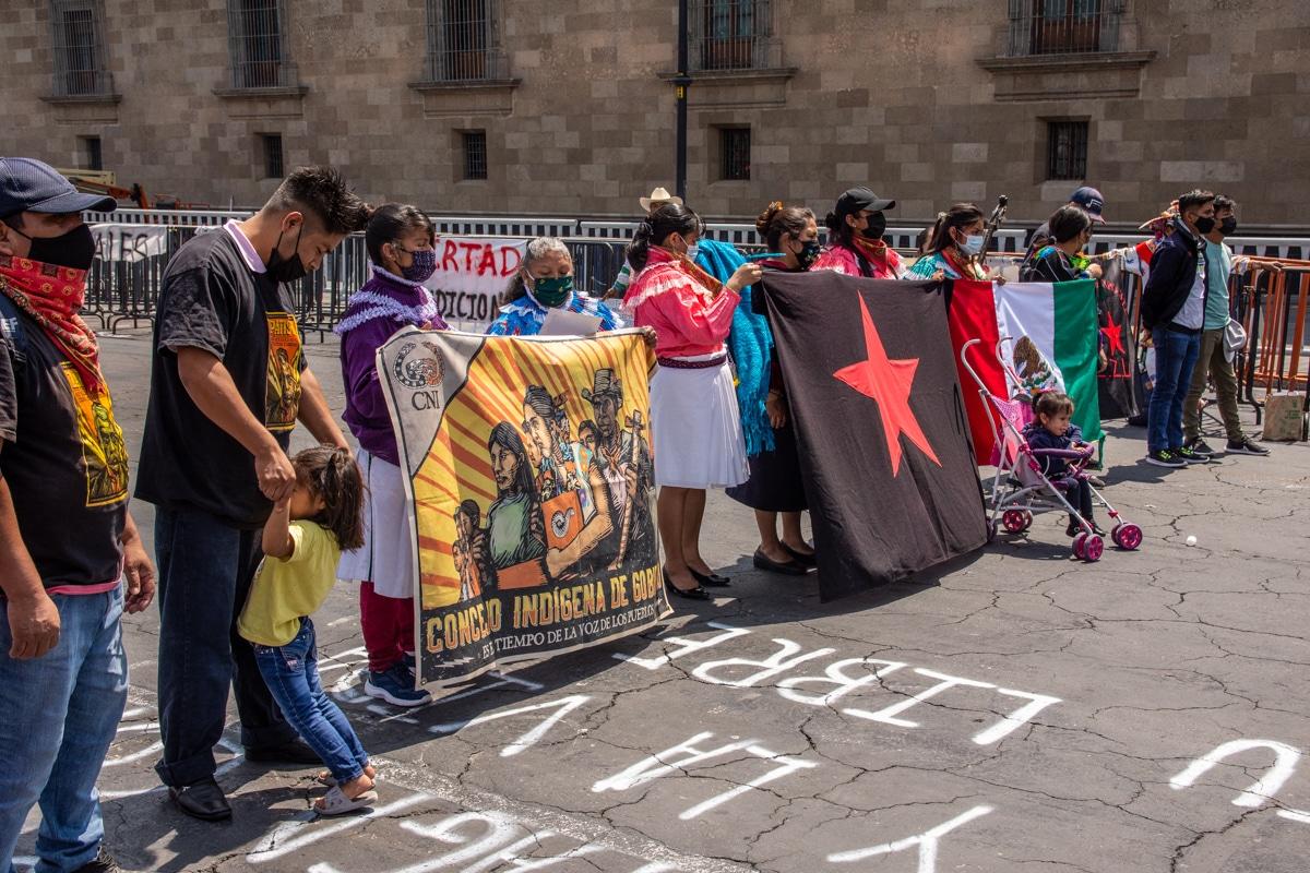 Demonstracje w Meksyku