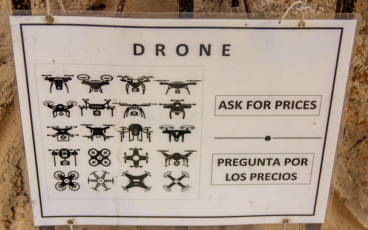 Drony w Meksyku - zakaz