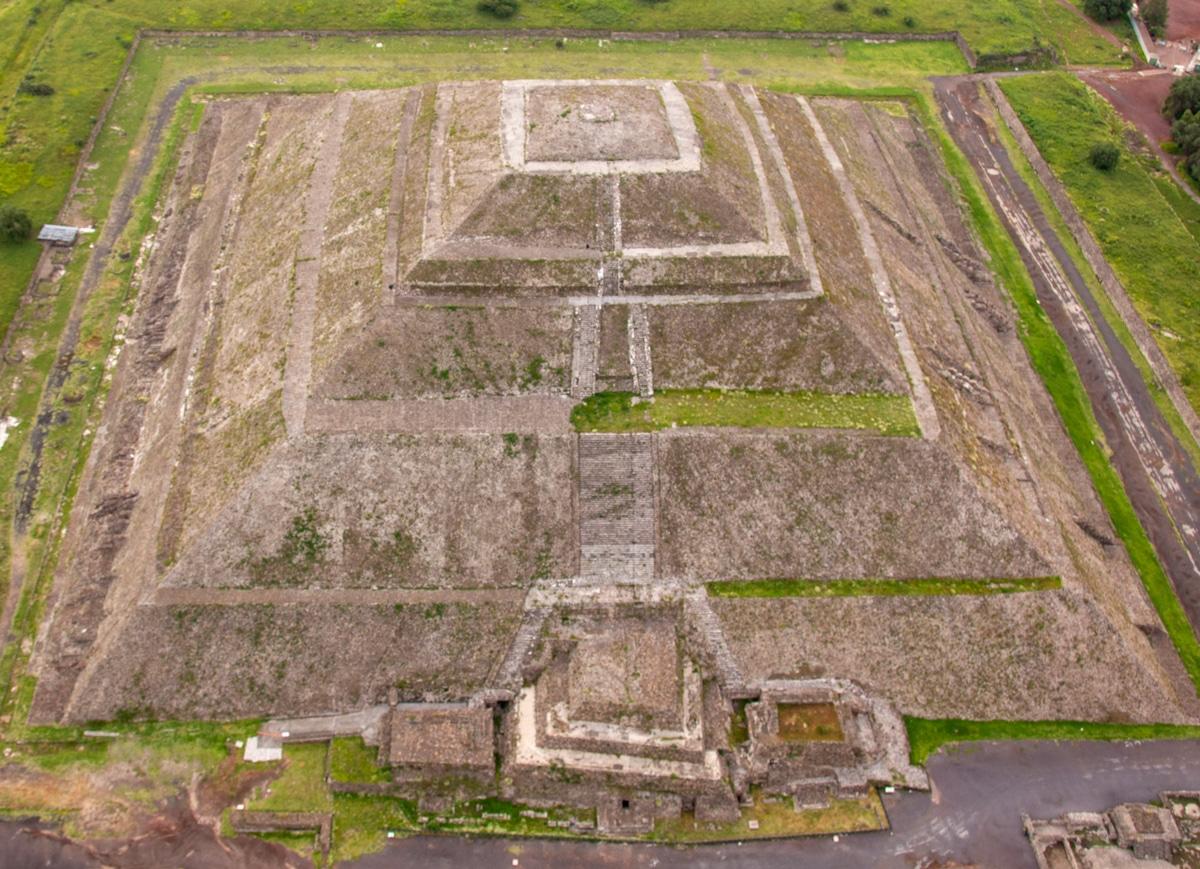Piramida - Teotihuacán