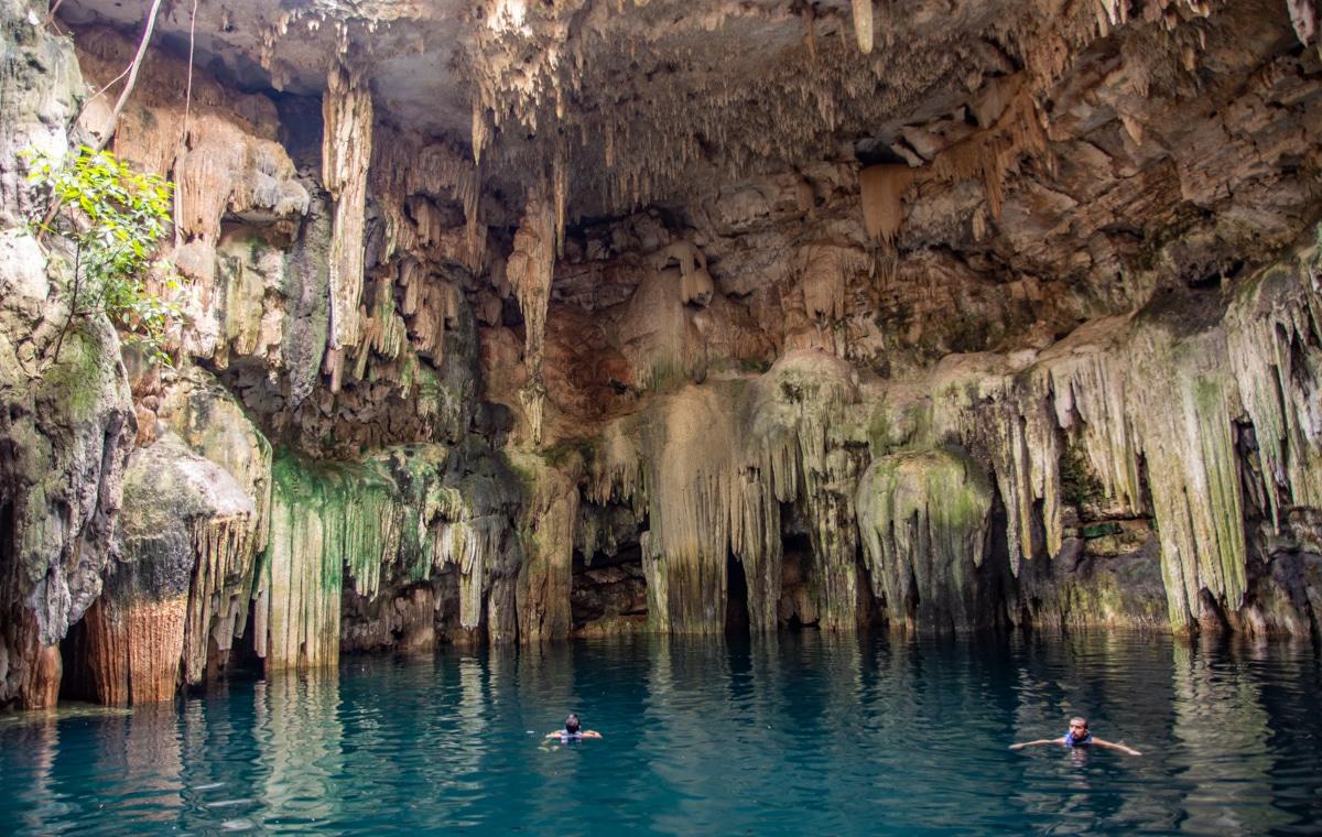 Cenote Tsukán, Jukatan