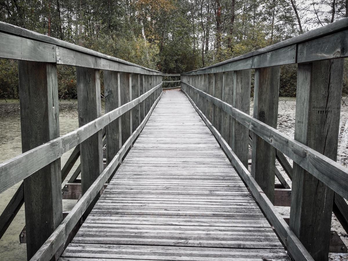 Bagno Całowanie - mostek