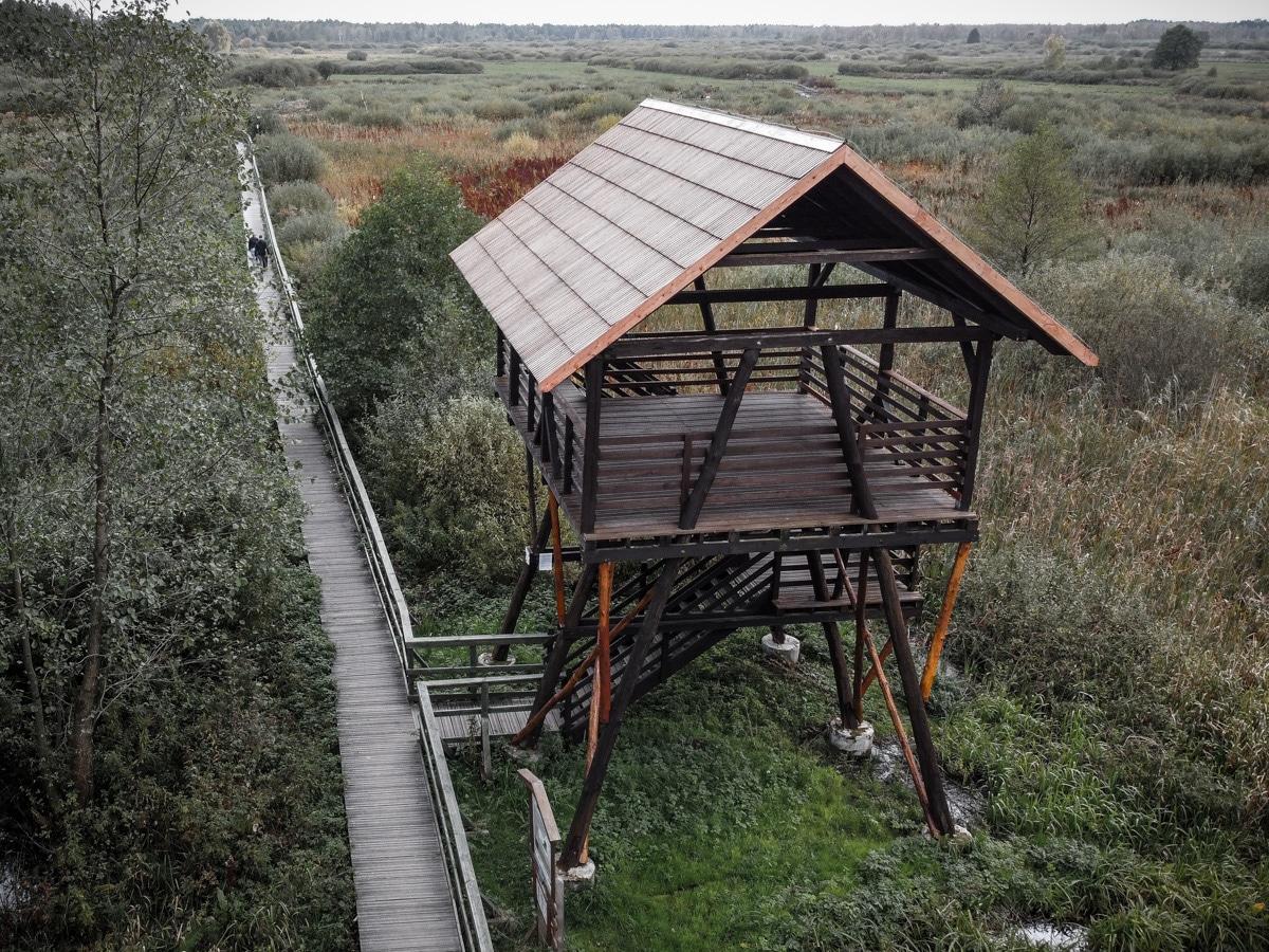 Bagno Całowanie - wieża