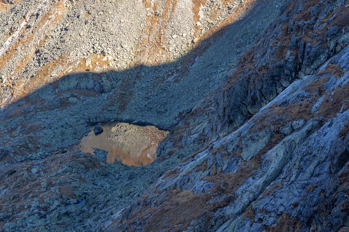 Widok ze Świnicy w Tatrach